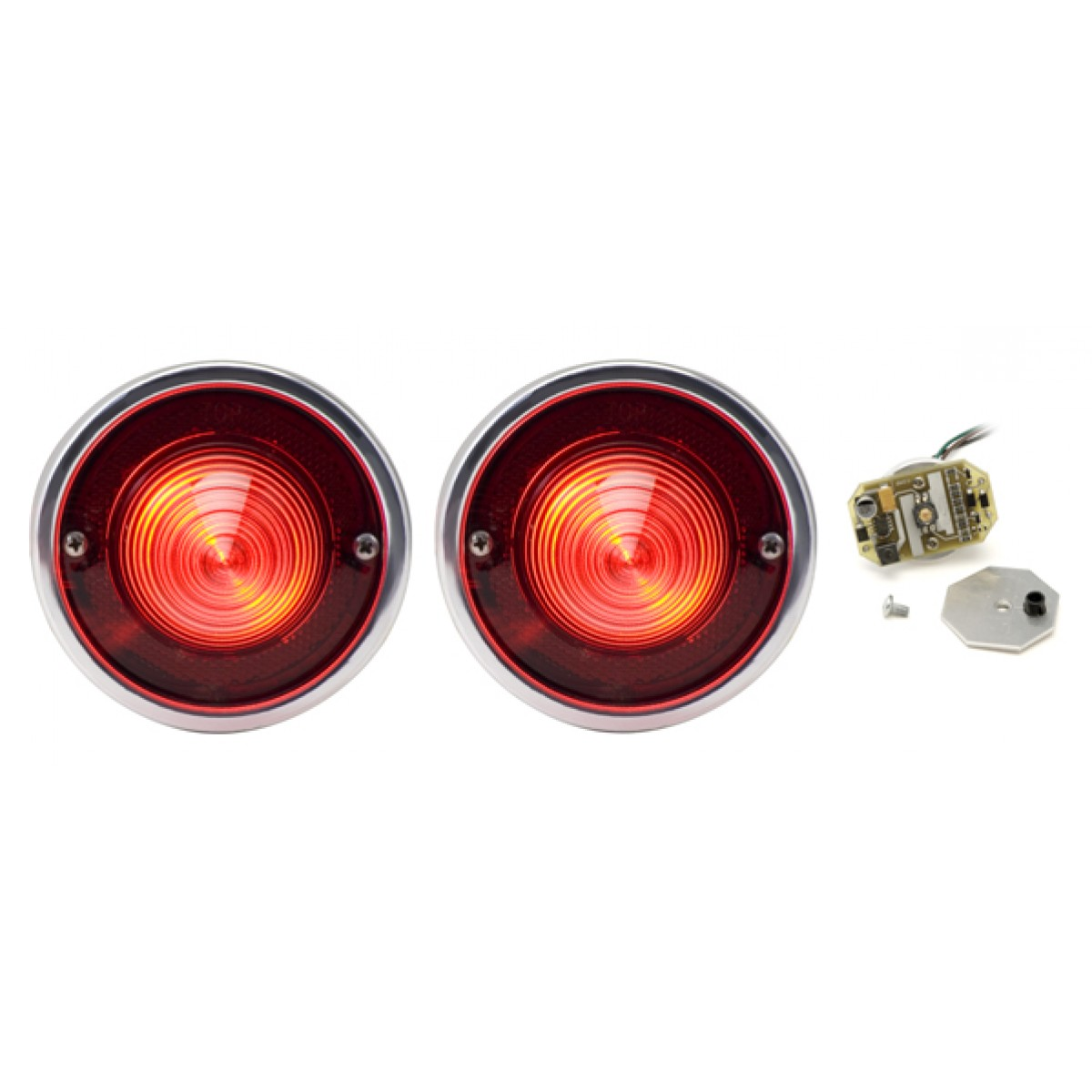 hight resolution of 1960 chevy impala bel air biscayne led tail lights dakota digital lat nr161
