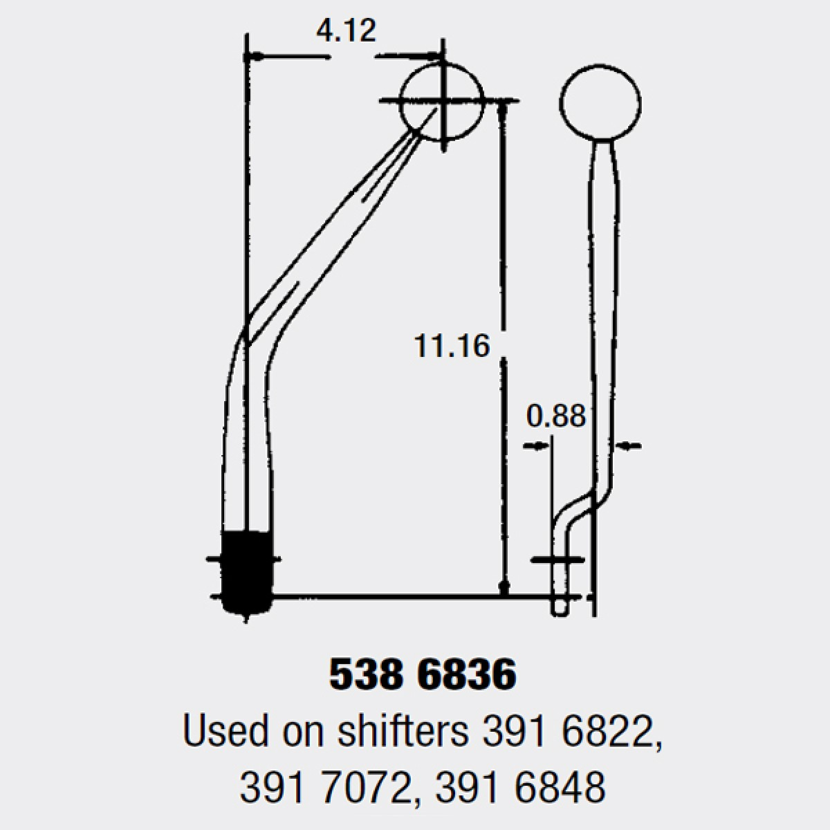 hight resolution of manual shifter competition plus muncie 451 452 453 transmission