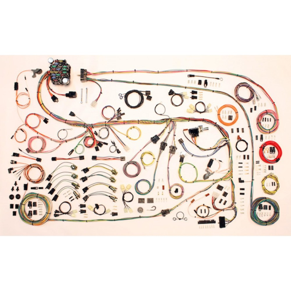 medium resolution of complete wiring harness kit 1967 75 dodge dart part 510603 rh code510 com 1969 dodge charger wiring harness diagram dodge truck wiring harness