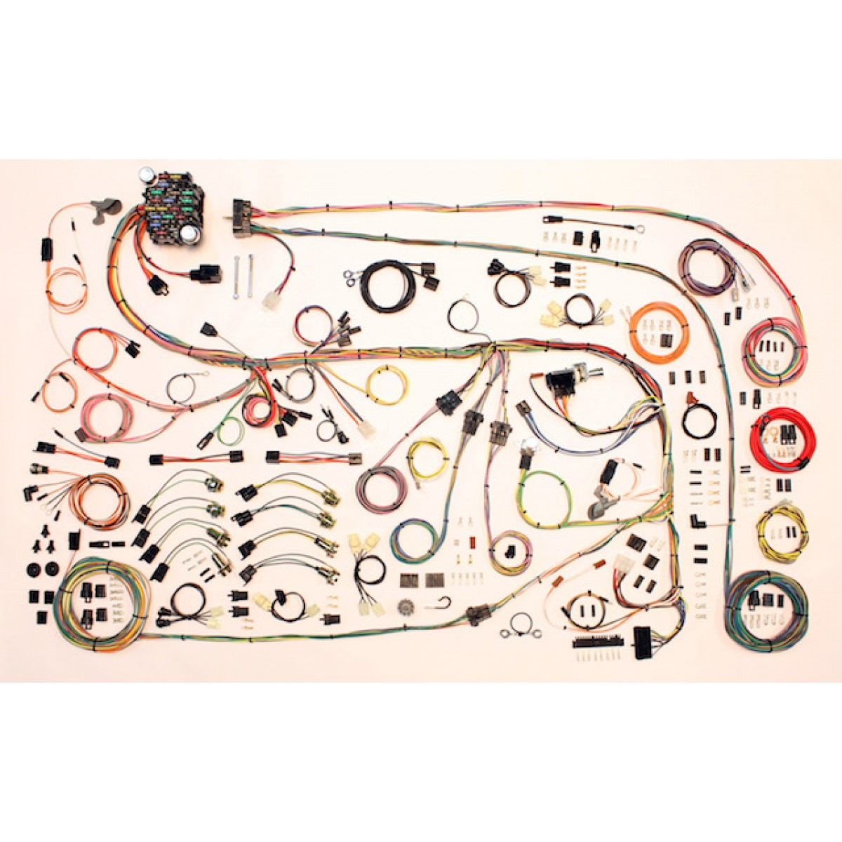 hight resolution of complete wiring harness kit 1967 75 dodge dart part 510603 rh code510 com 1969 dodge charger wiring harness diagram dodge truck wiring harness