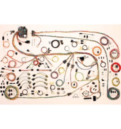 complete wiring harness kit 1967 75 plymouth barracuda part 67 barracuda fuse box [ 1200 x 1200 Pixel ]