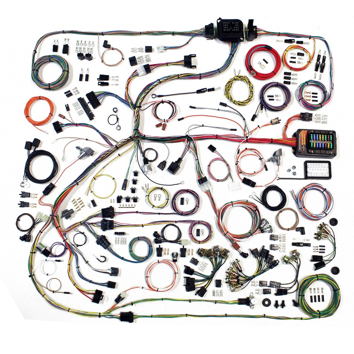 hight resolution of complete wiring harness kit 1968 70 plymouth satellite satellite wire harness satellite wire harness