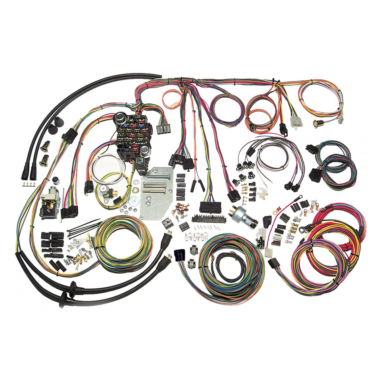 hight resolution of complete wiring harness kit 1955 1956 chevy tri five belair part 56 chevy bel air wiring harness source wiring diagram
