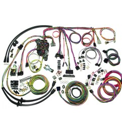 complete wiring harness kit 1957 chevy belair part 500434 [ 1200 x 1200 Pixel ]