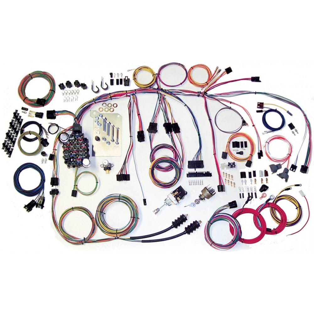medium resolution of complete wiring harness kit 1960 1966 chevy truck part 500560