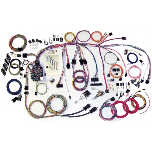 small resolution of complete wiring harness kit 1960 1966 chevy truck part 500560