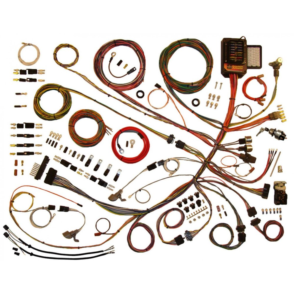 medium resolution of complete wiring harness kit 1953 1956 ford f100