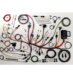 complete wiring harness kit 1953 1962 corvette part 510267 [ 1200 x 1200 Pixel ]