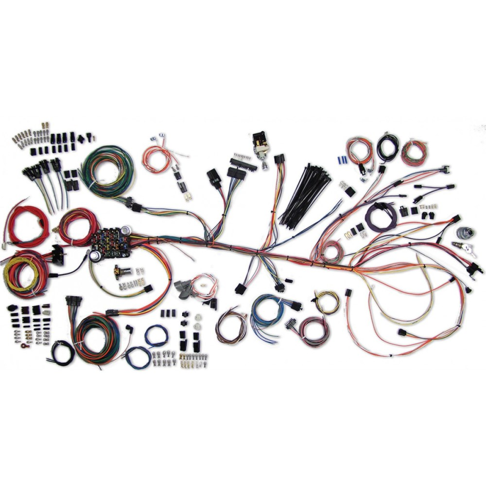 medium resolution of 1964 1967 el camino wiring harness kit el camino wiring part el camino dash wiring harness further 1967 chevelle fuel gauge wiring