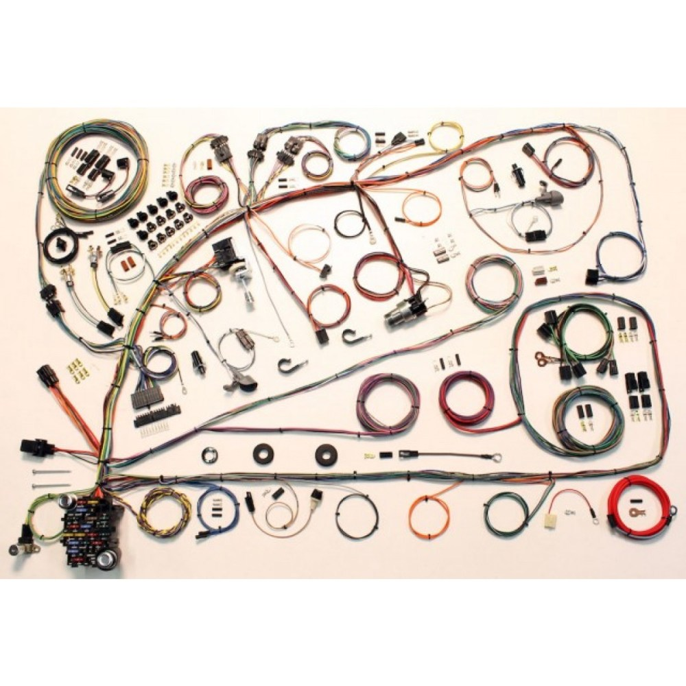 medium resolution of complete wiring harness kit 1966 1967 ford fairlane part 510391