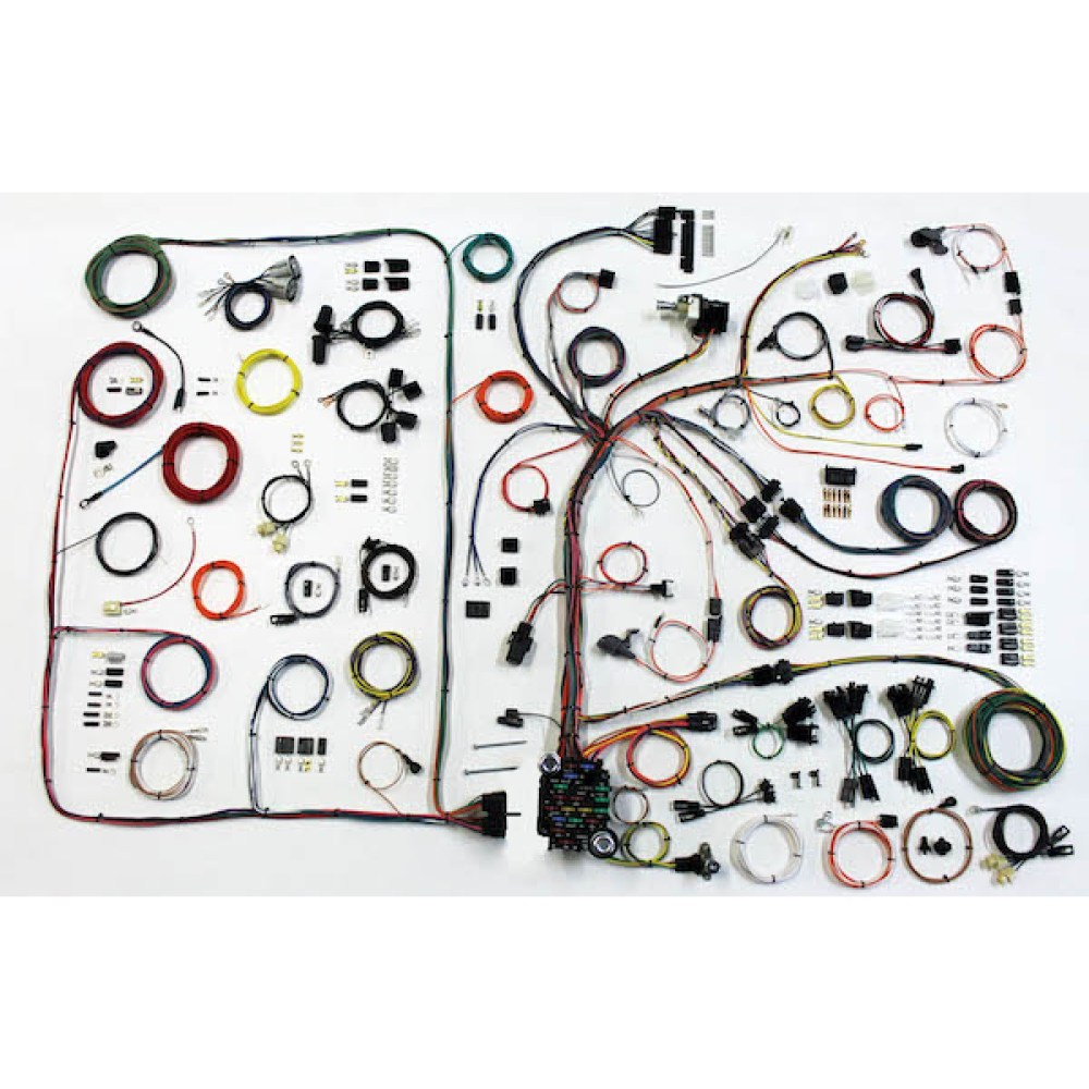 medium resolution of 1968 1972 pontiac gto complete wiring harness kit 1968 1972 1966 gto wiring harness gto wiring harness