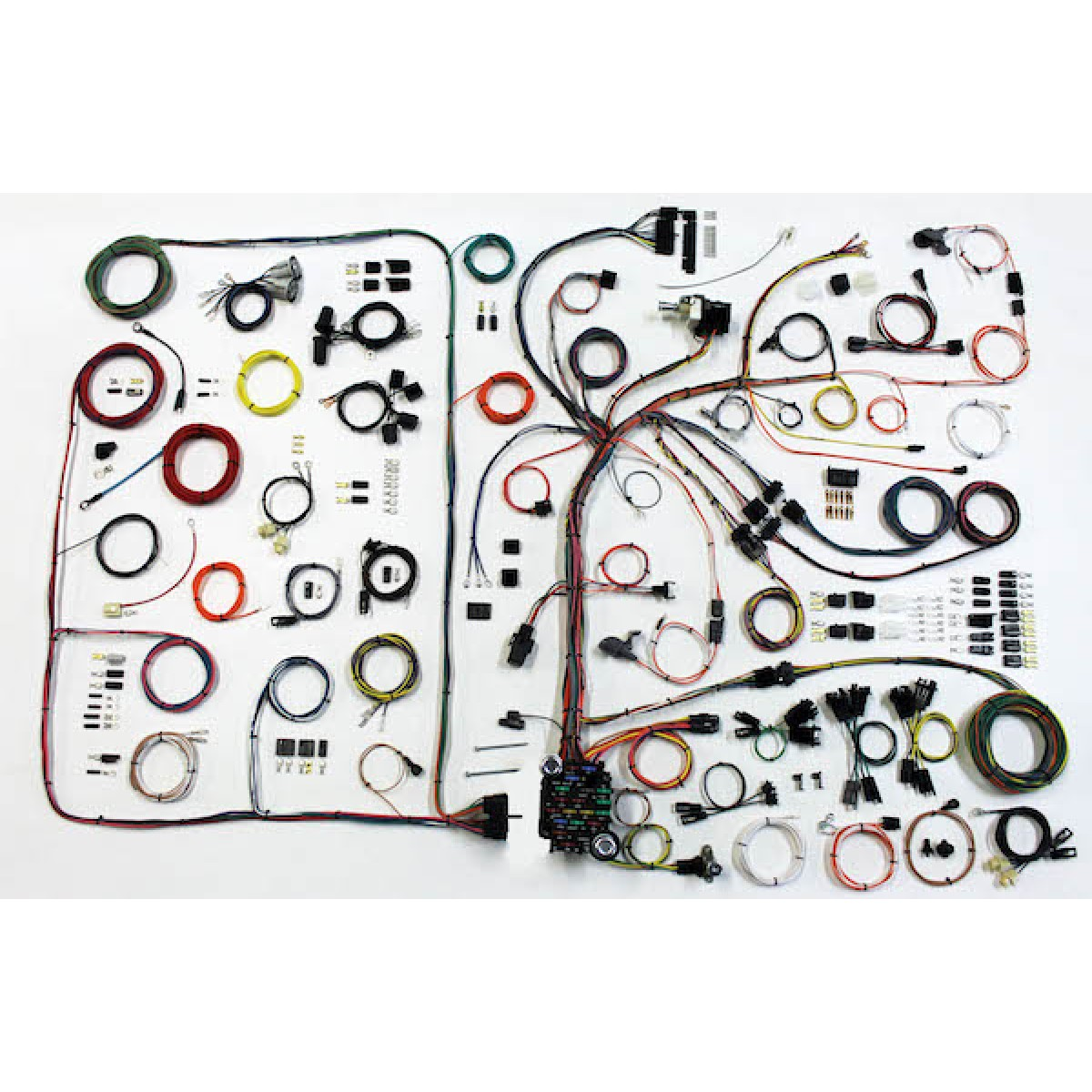 hight resolution of 1968 1972 pontiac gto complete wiring harness kit 1968 1972 1966 gto wiring harness gto wiring harness