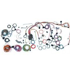 complete wiring harness kit 1969 camaro part 500686 [ 1200 x 1200 Pixel ]