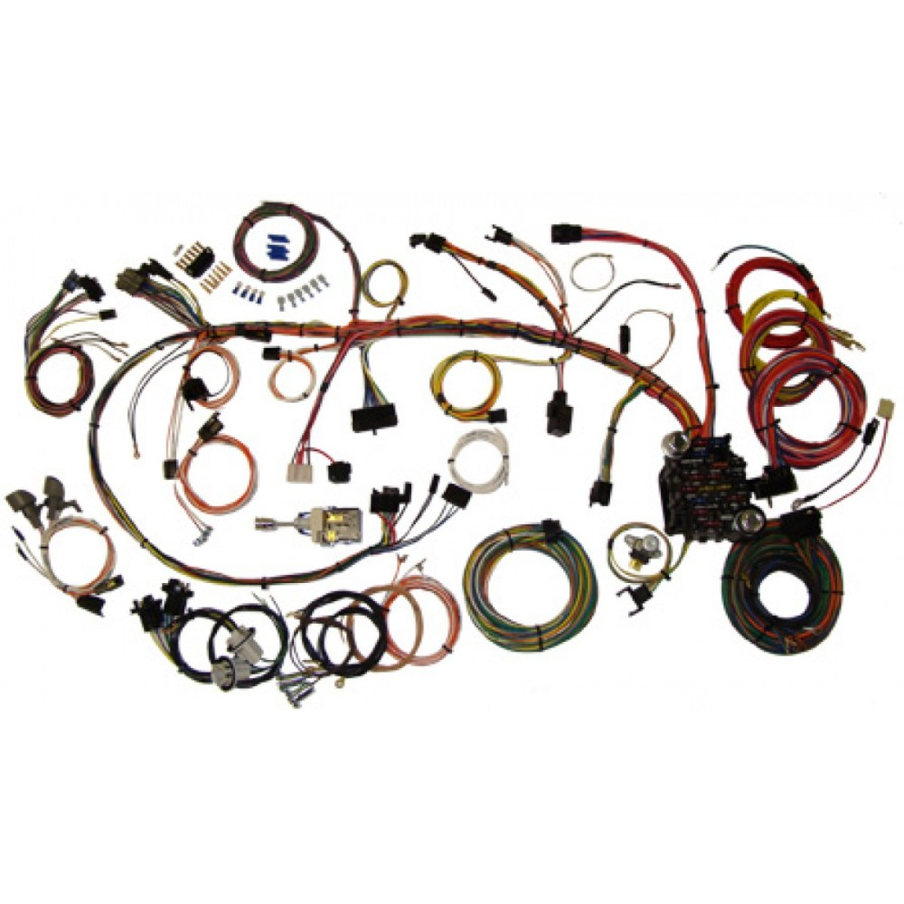 medium resolution of camaro wiring harness kit 1970 1973 camaro part 510034 1970 70 camaro wiring harness