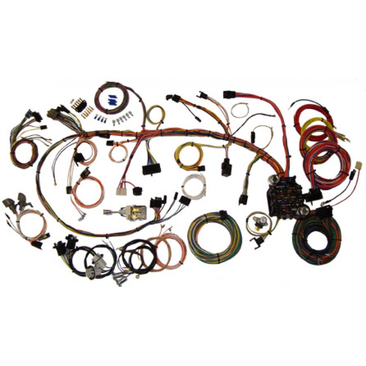 hight resolution of camaro wiring harness kit 1970 1973 camaro part 510034 1970 70 camaro wiring harness