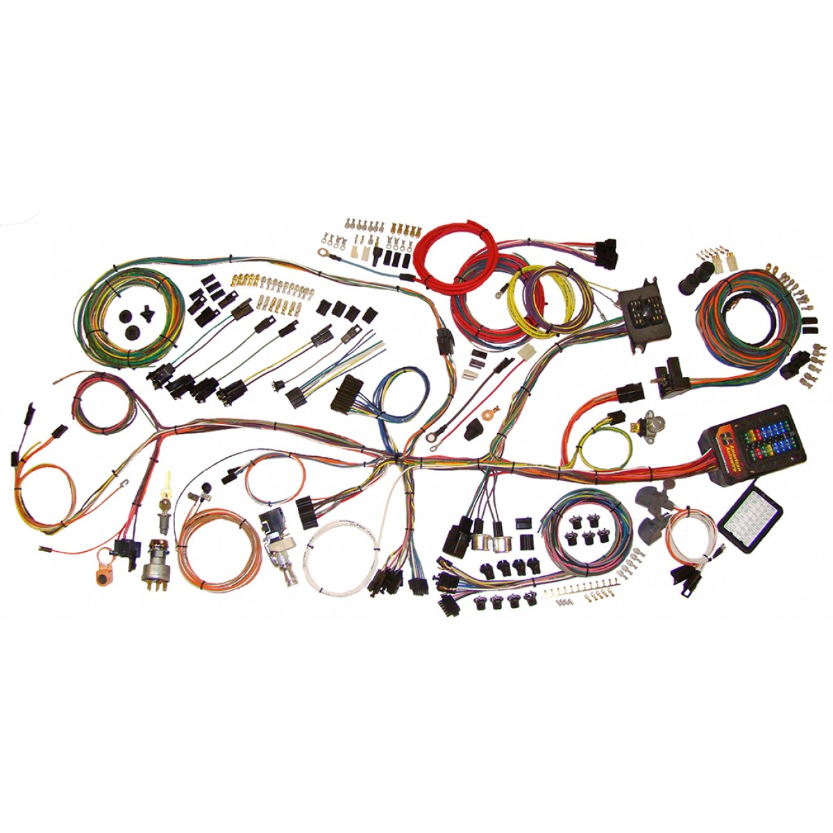 hight resolution of complete wiring harness kit 1962 1967 nova part 510140