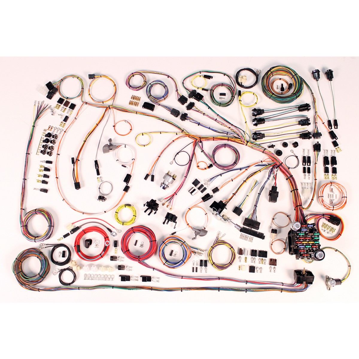 hight resolution of 1966 1968 impala wire harness complete wiring harness kit 19661966 caprice wiring harness 2