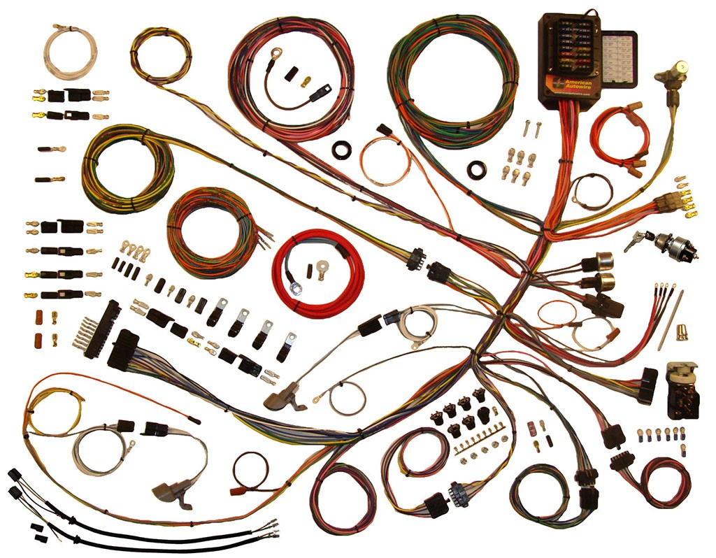 hight resolution of complete wiring harness kit 1953 1956 ford f100