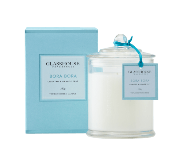 Bora Bora 350g Glasshouse Candle