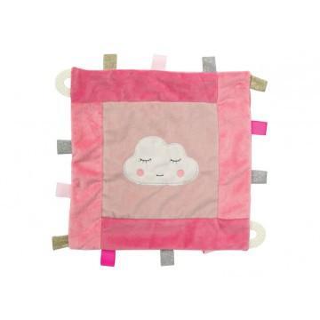 Cloud Baby Security Blanket - Pink