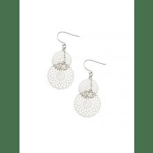 Silver Kaleidoscope earrings by Tiger Tree