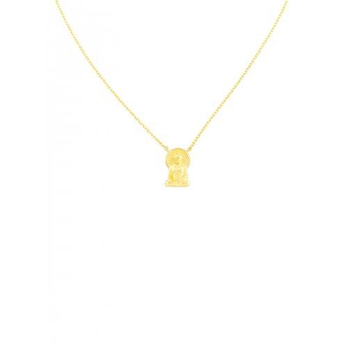 buddha necklace gold