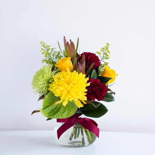 bright posy jar