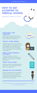 medical school acceptance tips