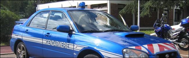 Subaru de la gendarmerie
