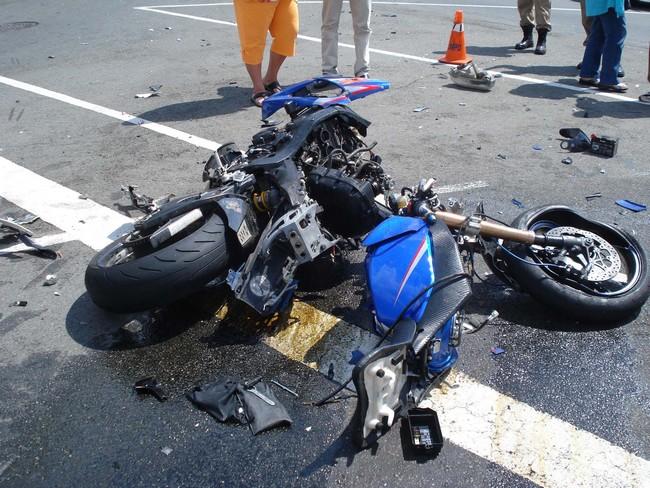 Accident de Motocyclette