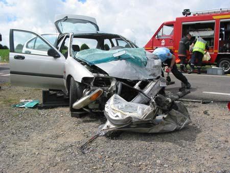 Campagne pour lutter contre les accidents de la route