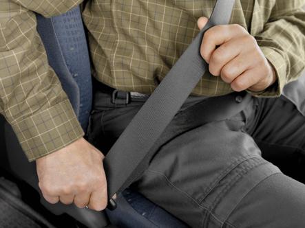 L'importance de la ceinture de sécurité