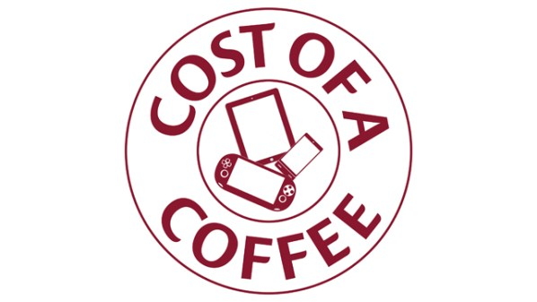 Cost of a Coffee Logo - Feature