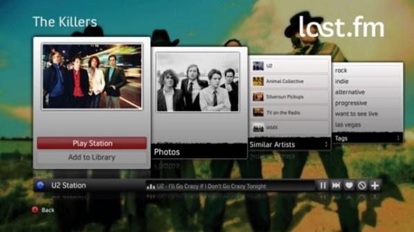 LastFM App on Xbox 01
