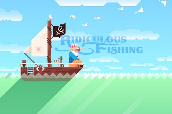 Ridiculous Fishing Logo