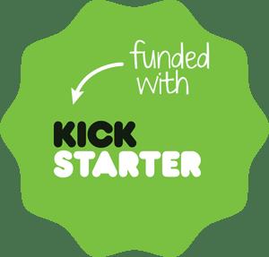 Kickstarter Funded Badge