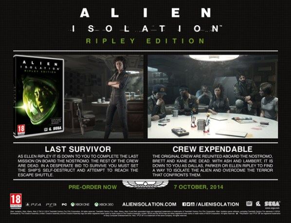 Alien Isolation DLC