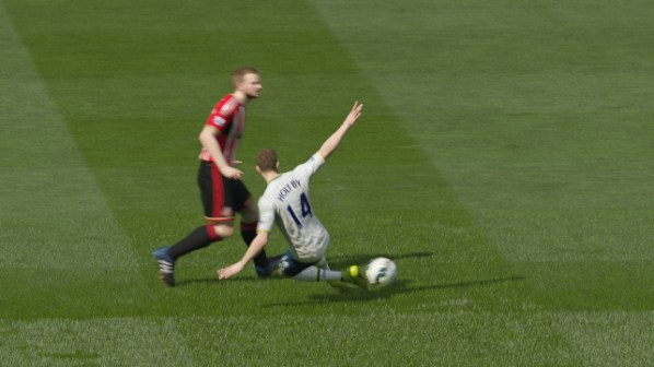 FIFA 15 Career 0-0 SUN V TOT, 1st Half