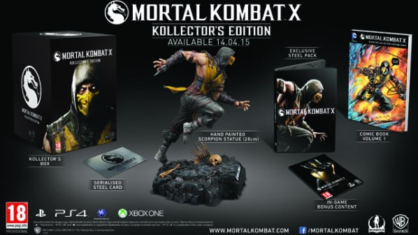 Mortal Kombat X Collectors