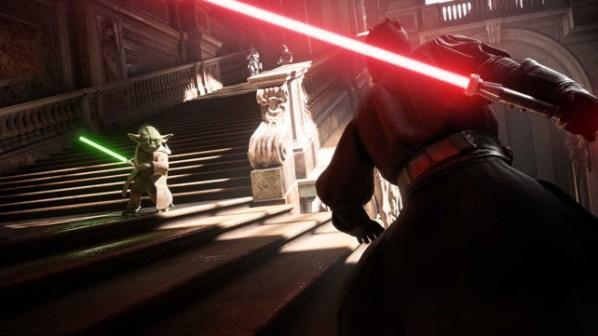 Battlefront II - Maul and Yoda