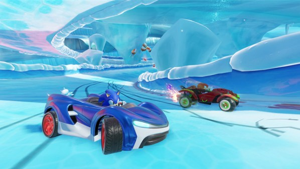Team Sonic Racing Ice