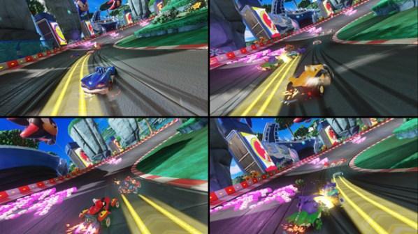 Team Sonic Racing Split
