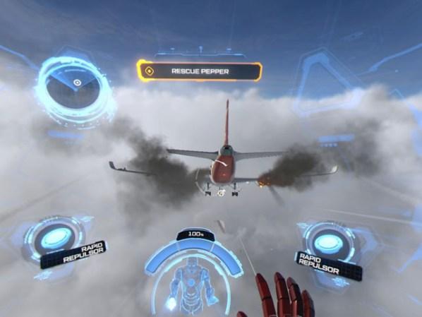 Marvel's Iron Man VR Jet