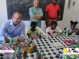 Visit from the Minister of Culture and Creative Industries CV