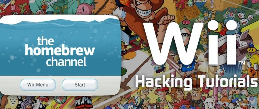 Wii Hacking and Homebrew Tutorials