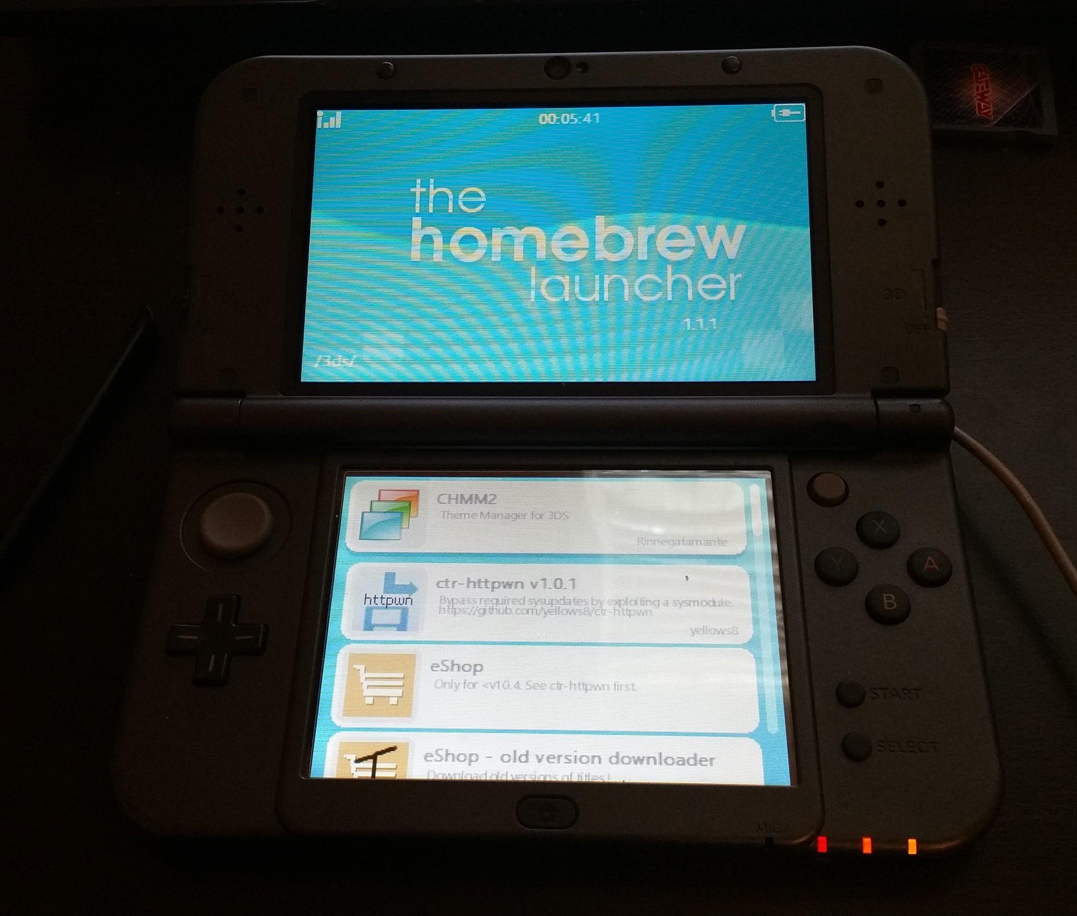 Resultado de imagem para Homebrew Nintendo 3DS