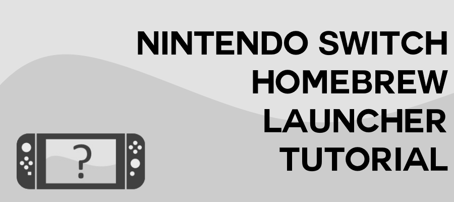 Nintendo Switch Homebrew Launcher Tutorial Code Donut