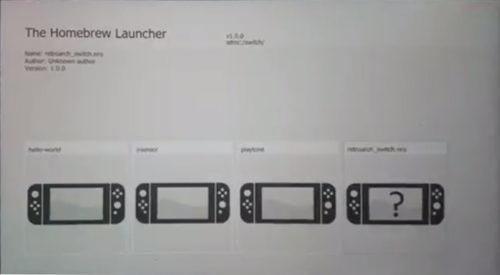 Nintendo switch homebrew launcher tutorial
