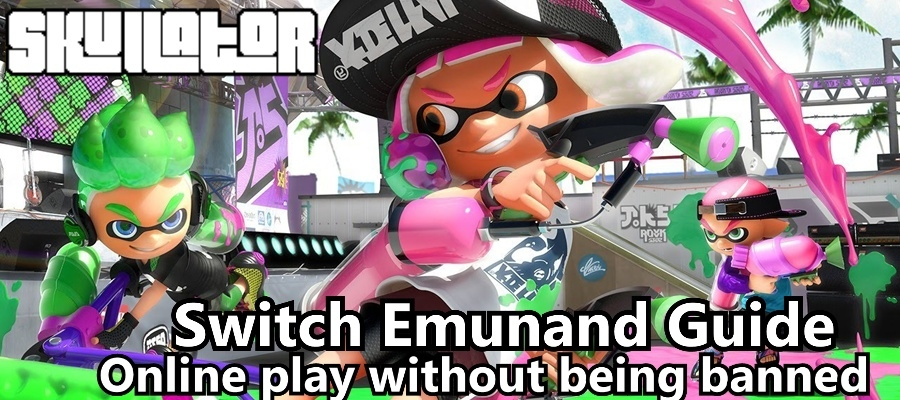 How to install Emunand on your Nintendo Switch: Play games online