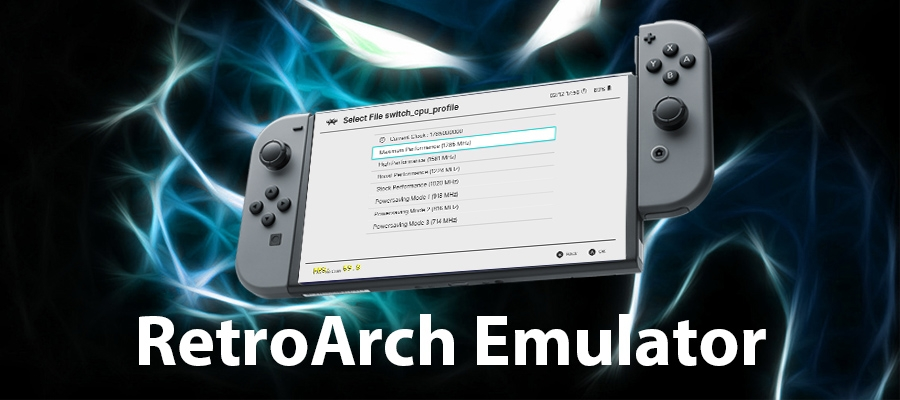SWITCH] Play Retro Games with RetroArch emulator, with CPU